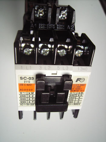 electrical wiring and installation of direct on line dol contactor