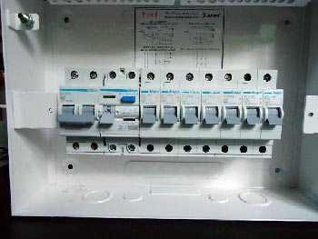 diy wiring a consumer unit and installation distribution board rh electrolesk com Power Distribution Board Electrical Distribution Board